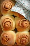 Cinnabon fragante fotos de archivo