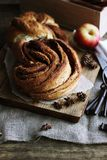 Cinnabon groot broodje Royalty-vrije Stock Fotografie
