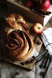 Cinnabon groot broodje Royalty-vrije Stock Afbeeldingen