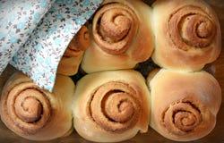 Cinnabon perfumado Fotos de Stock Royalty Free