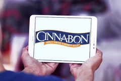 Cinnabon piekarni restauraci logo Fotografia Stock