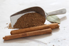 Cinnamom with Garam Masala Royalty Free Stock Photography