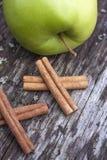 Cinnamomum verum sticks Stock Photos