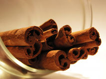 Cinnamon. Sticks Royalty Free Stock Photos