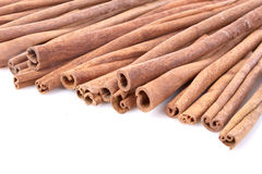 Cinnamon. Some sticks of cinnamon isolated on white background Stock Images