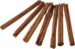 Cinnamon. Stick spices on white background Royalty Free Stock Image