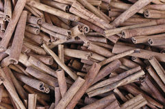 Cinnamon 2. Powder or stick, good for health, and mind. Very good with a drink when boiled with water Royalty Free Stock Images
