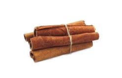 Cinnamon. Sticks shoot at studio Stock Image