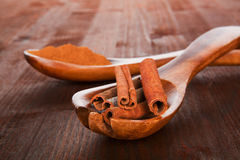 Cinnamon. Royalty Free Stock Photography