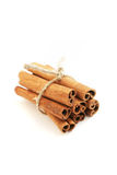 Cinnamon. Sticks, isolated on white Royalty Free Stock Image