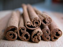 Cinnamon. Stick - macro Stock Photo