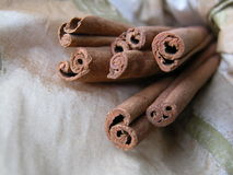 Cinnamon. Sticks Royalty Free Stock Photo