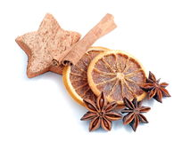 CINNAMON AND ANISE Royalty Free Stock Image