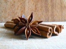 Cinnamon & Anise Stock Image