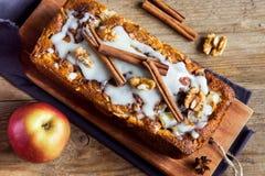 Cinnamon apple cake Royalty Free Stock Images