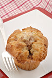 Cinnamon Apple Muffin Royalty Free Stock Image