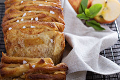 Cinnamon apple pull apart bread Royalty Free Stock Photography