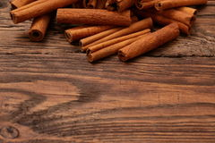 Cinnamon. As an aromatic spice to many dishes Stock Images