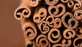 Cinnamon background Stock Image