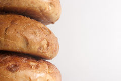 Cinnamon Bagels Stock Photography