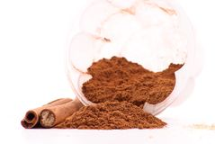 Cinnamon Baking Spice Stock Images