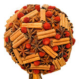 Cinnamon ball Stock Photo
