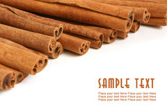 Cinnamon bark Royalty Free Stock Image