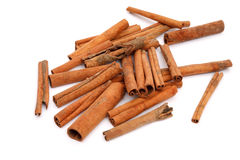 Cinnamon bark Stock Photo