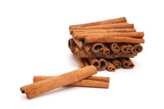 Cinnamon bark Stock Photography