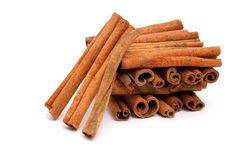 Cinnamon bark Royalty Free Stock Photos