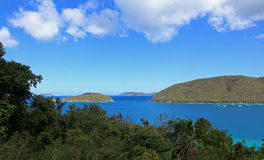 Cinnamon Bay in St John Royalty Free Stock Photos