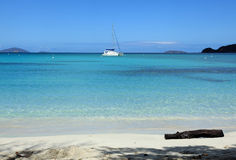 Cinnamon Bay in St John Stock Image