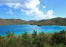 Cinnamon Bay in St John Royalty Free Stock Image