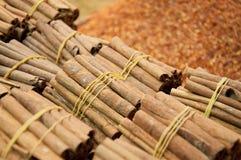 Cinnamon at Bazaar in Istanbul Stock Photo
