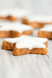 Cinnamon biscuits Royalty Free Stock Image