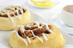 Cinnamon biscuits Stock Photography