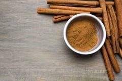 Cinnamon Border Stock Images