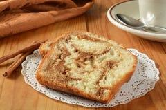 Cinnamon bread Stock Image