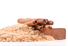 Cinnamon and Brown Sugar Royalty Free Stock Photo