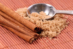 Cinnamon and Brown Sugar Stock Photos