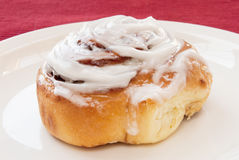 Cinnamon bun Royalty Free Stock Photos