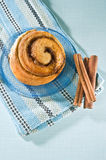 Cinnamon bun Stock Images