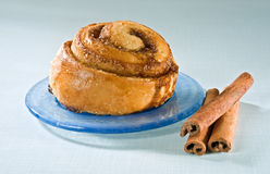Cinnamon Bun Stock Images