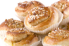 Cinnamon Bun Royalty Free Stock Images