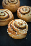 Cinnamon Bun Stock Photography