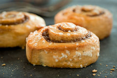 Cinnamon Bun Royalty Free Stock Photography