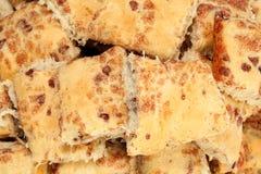 Cinnamon Bun Texture Stock Image