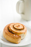 Cinnamon bun Stock Photos