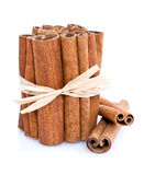 Cinnamon Bundle Stock Photo