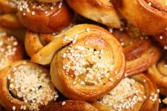 Cinnamon Buns Royalty Free Stock Photos